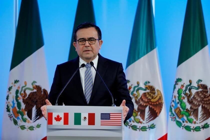 El secretario de Economía de México, Ildefonso Guajardo, realizará del 19 al 21 de diciembre una visita a Bruselas, Bélgica, para la séptima ronda de negociaciones para modernizar el Tratado de Libre Comercio entre la Unión Europea y México (TLCUEM), informó hoy el ministerio. EFE/ARCHIVO