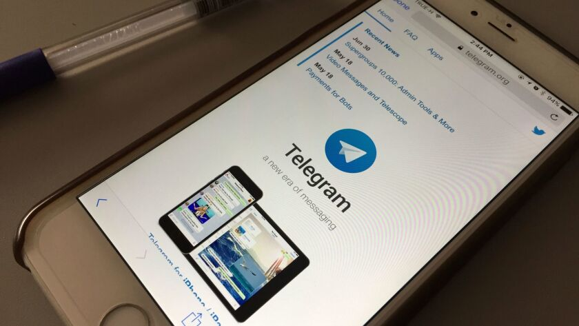 Iranian authorities have cracked down on social media apps, including Telegram, amid protests.