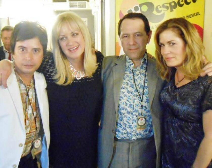 Members of the Three O'Clock and the Bangles
