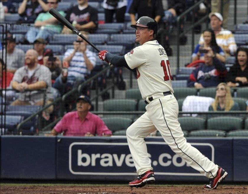 En la imagen, el bateador emergente Jason Bay. EFE/Archivo