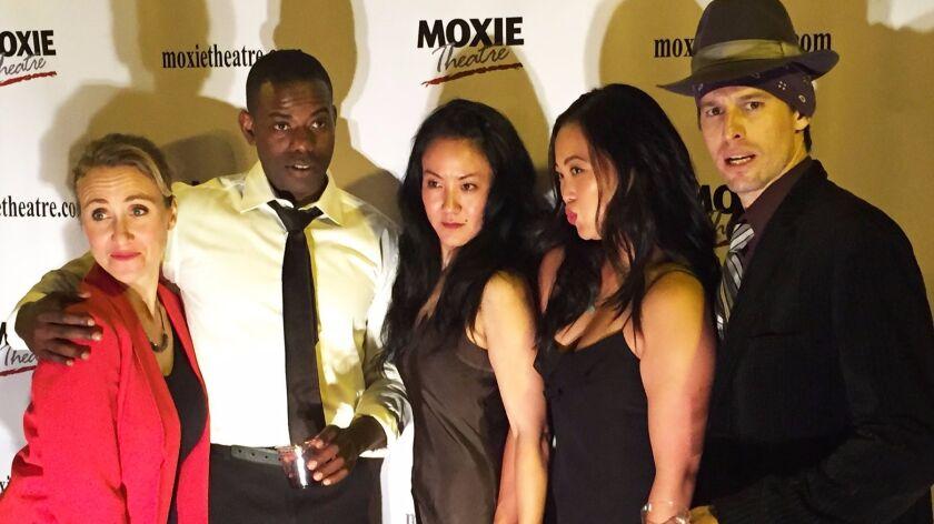 The peerless cast: Jennifer Eve Thorn, Vimel Sephus, Jyl Kaneshiro, Dana Wing Lau and Justin Lang.