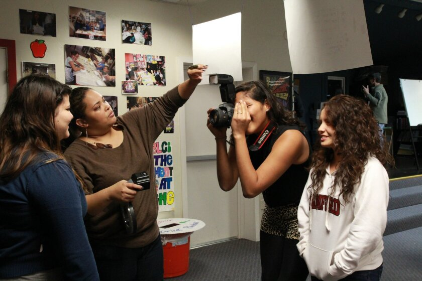 utside the Lens instructors will work hands-on with students at the upcoming Historical Society-sponsored photography workshop. Photo Outside the Lens Teen Youth Council