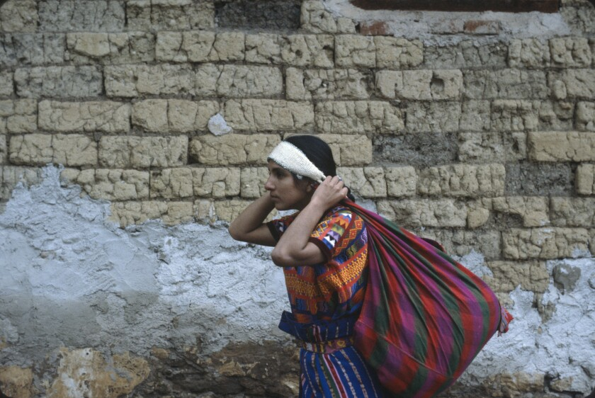 "Zaide Silvia Gutierrez stars in ""El Norte,"" Gregory Nava's 1984 film about Guatamalan siblings' trek through Mexico to the U.S. A restored version of the film is screening nationwide on Sept. 15."