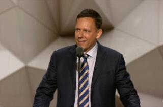 Watch California venture capitalist Peter Thiel become first speaker in Republican convention history to say he is gay