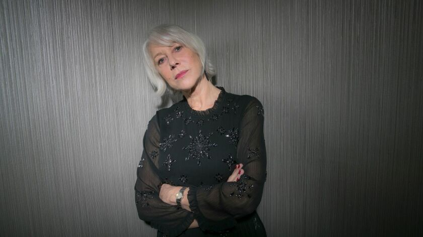 BEVERLY HILLS, CA, WEDNESDAY, JANUARY 10, 2018 - Helen Mirren stars in the movie Winchester, based o