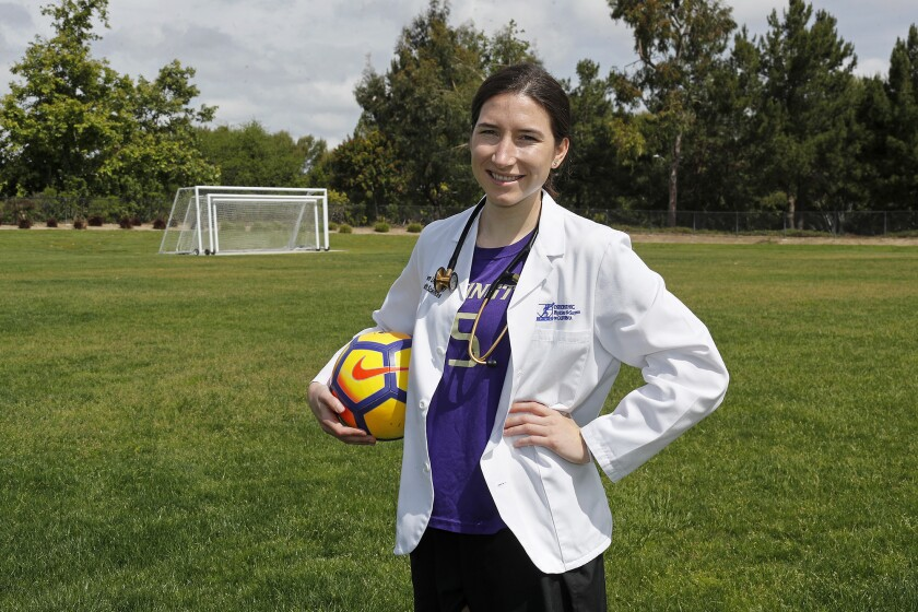 Ally Brahs, who played soccer at the University of Washington and is a former Corona del Mar High player, has entered the medical field. Brahs is set to begin her medical residency program in Florida.