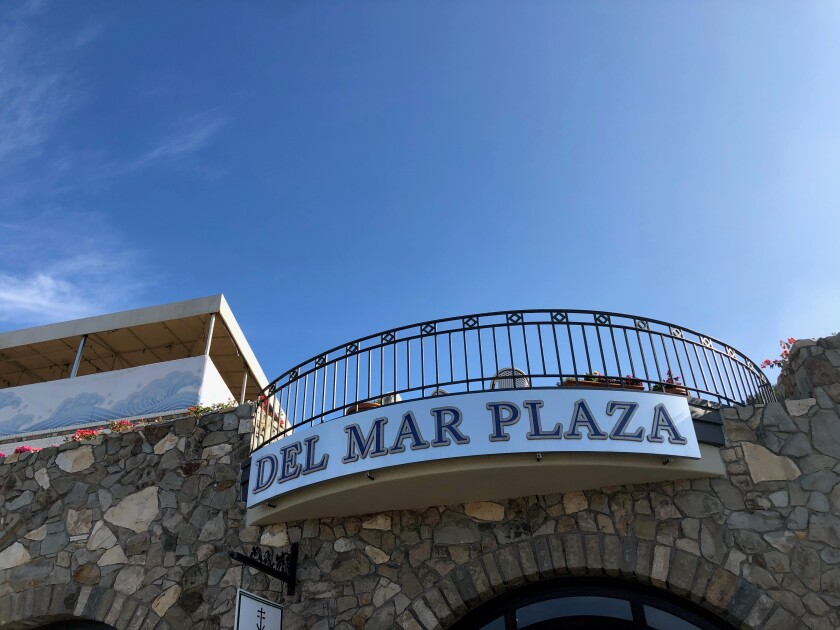 Changes are on the horizon at Del Mar Plaza.