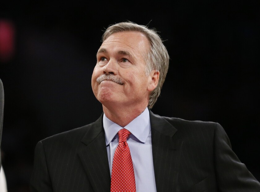 The Lakers have a slew of possible replacements for Coach Mike D'Antoni, who resigned Wednesday after less than two seasons.