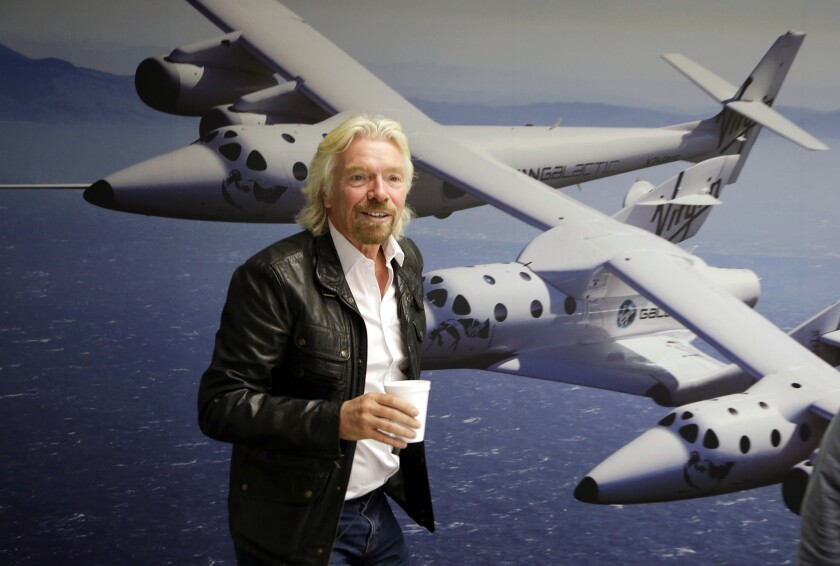 Richard Branson's Virgin Galactic space company went public after merging with a Silicon Valley-based special purpose acquisition company.