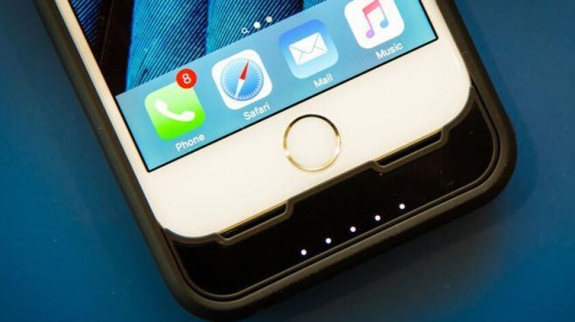 The iPhone doesn't start flashing an alert when your battery is in trouble — it just starts to curtail your phone's processing power.