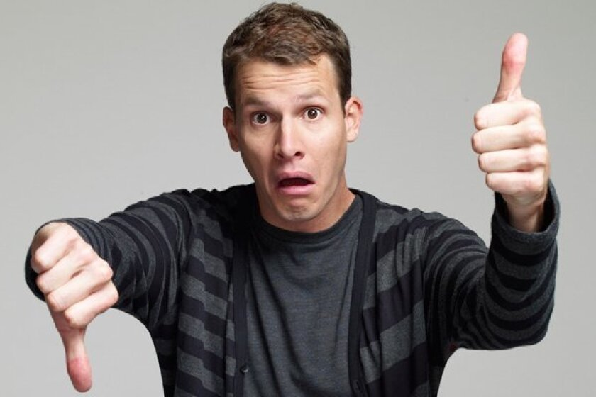 Daniel Tosh brings his stand-up tour to San Diego on November 23.