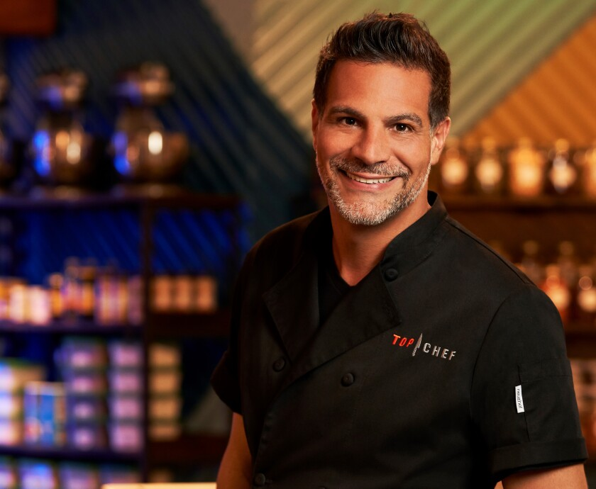 "Chef Angelo Sosa, of Encinitas' Death By Tequila, is back for a third spin at the cheftestant game on ""Top Chef."""