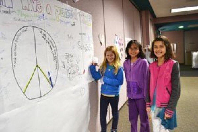 The Great Kindness Challenge week at Solana Santa Fe