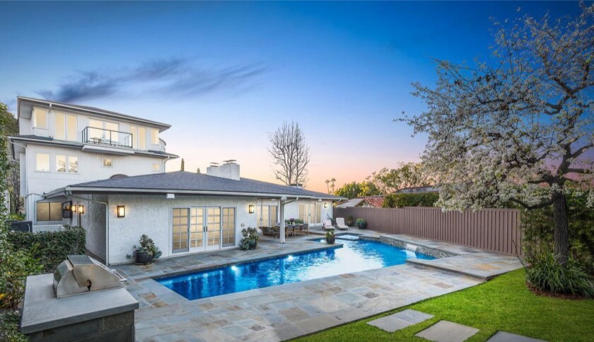 Rob Benedict's Hollywood Hills home