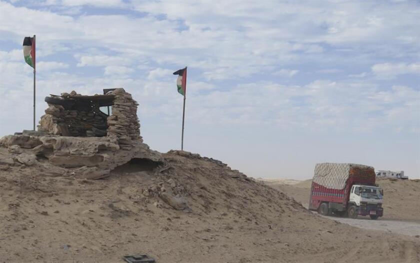 La ONU expresó hoy su profunda preocupación por la escalada de tensión en Guerguerat, zona situada en el extremo sur de Sáhara Occidental y considerada tierra de nadie, y llamó a la máxima contención al Frente Polisario y a Marruecos. EFE/ARCHIVO