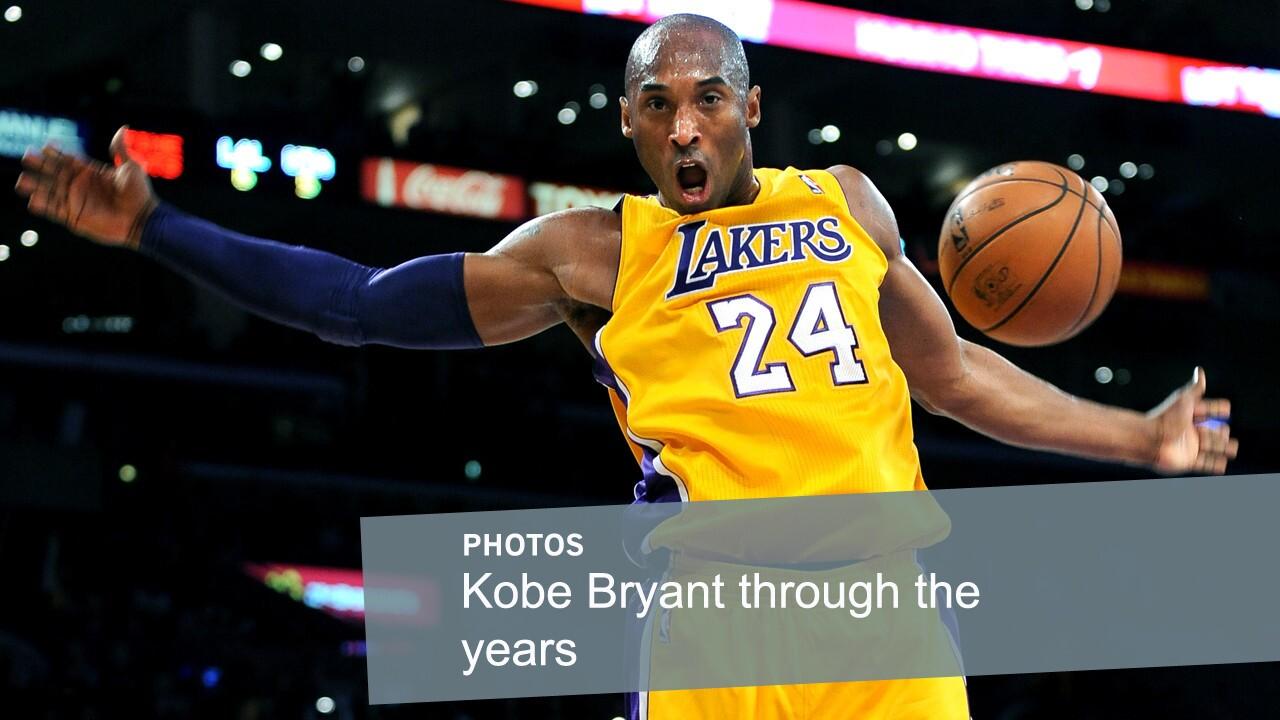 Lakers star Kobe Bryant dunks against the Utah Jazz on Jan. 25, 2013, at Staples Center.