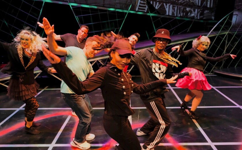 """In Lamb's Players Theatre's """"miXtape,"""" it's all about the '80s."""