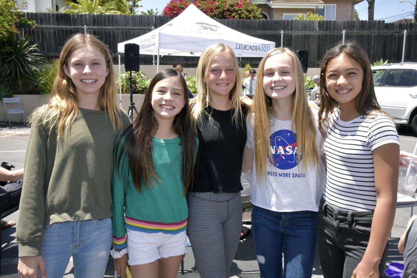 Warner, Kate, Mason, Sonya, Liana