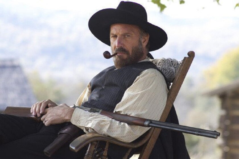 """Kevin Costner plays Devil Anse Hatfield in """"Hatfields and McCoys."""""""