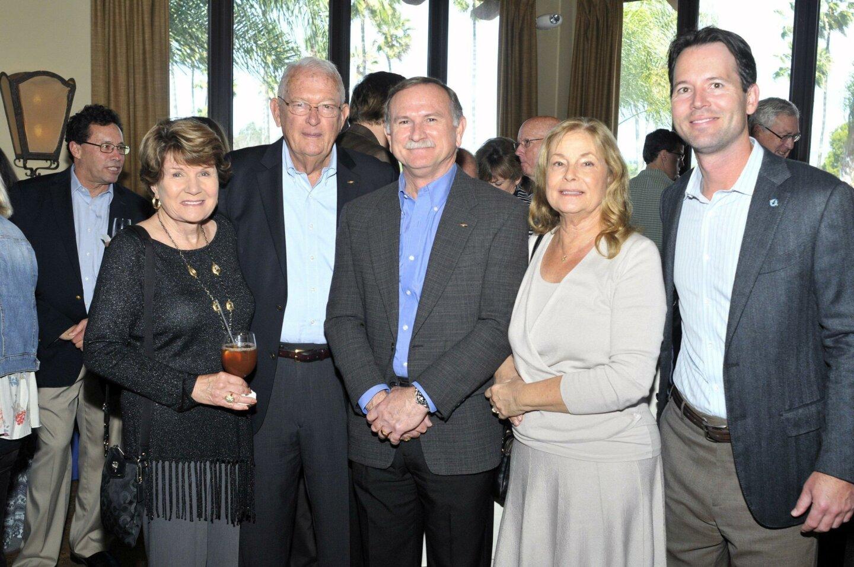 Ellen and Charlie MacVean, John and Diane Vinson, Mark Kersey