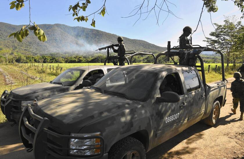 Drug cartel violence in Mexico