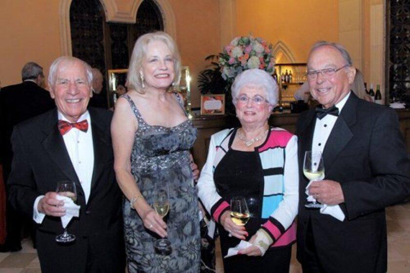 David and Sherry Roseman, LaJuan and Dan Fenn