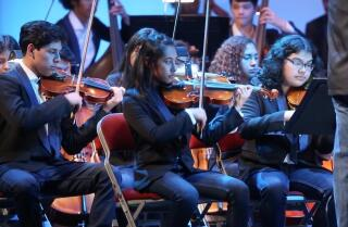Youth Orchestra Los Angeles goes on tour