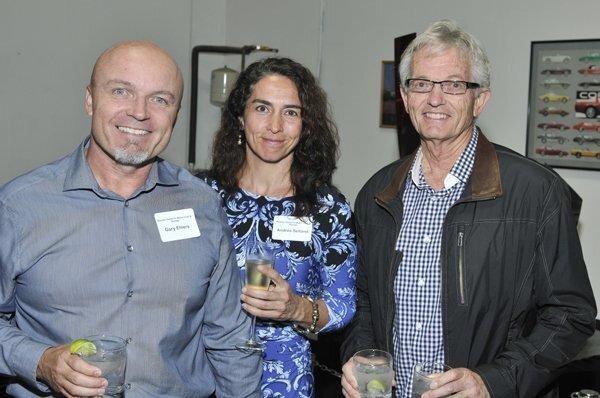 Gary Ehlers, Andrea Selland, Steve Thomas