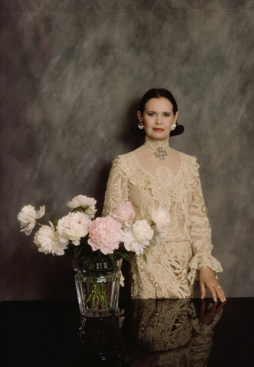 Clothing Designer Gloria Vanderbilt