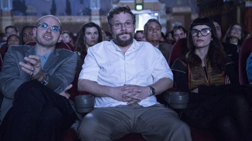 """PAUL SCHEER AND SETH ROGEN IN """"THE DISASTER ARTIST."""""""