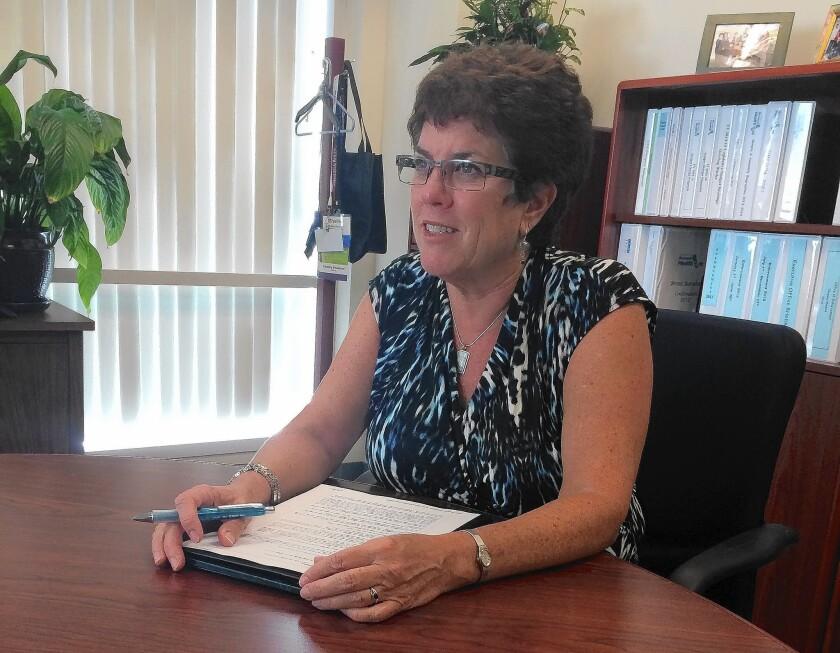 Shelley Rouillard checks up on health plans in California