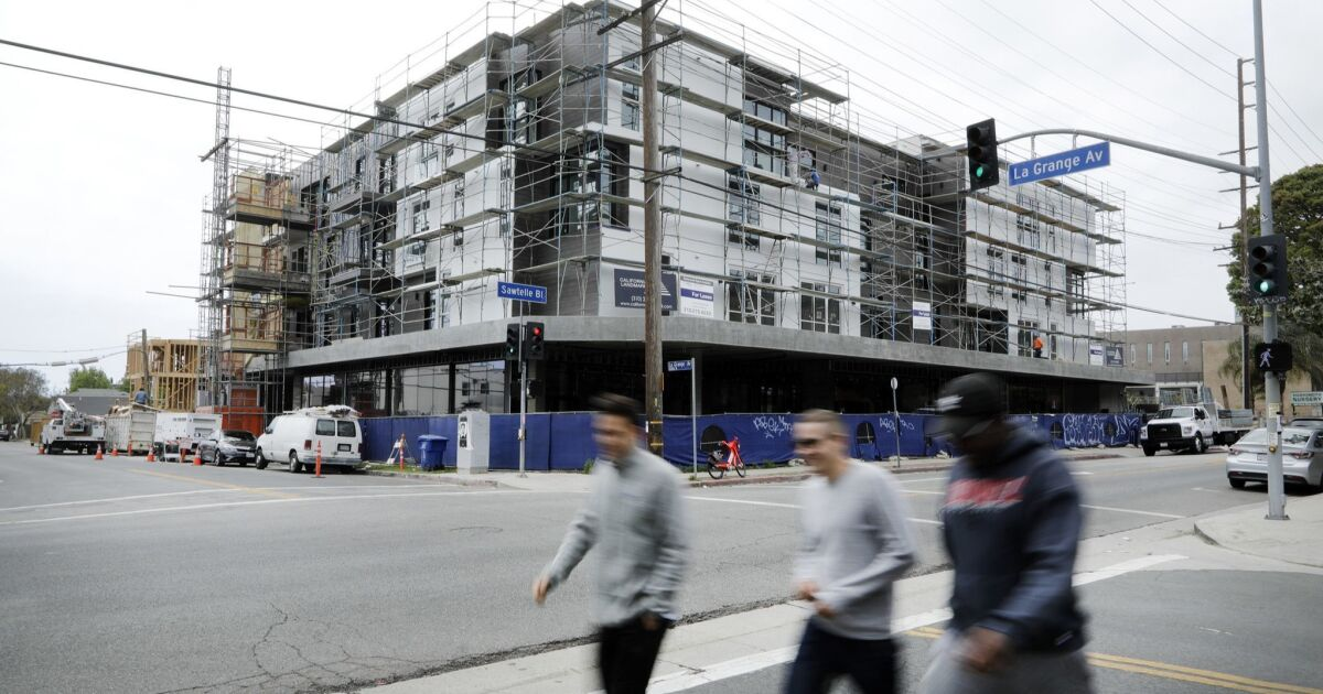 A housing bill died in Sacramento. Now L.A. business leaders are exploring their own plan
