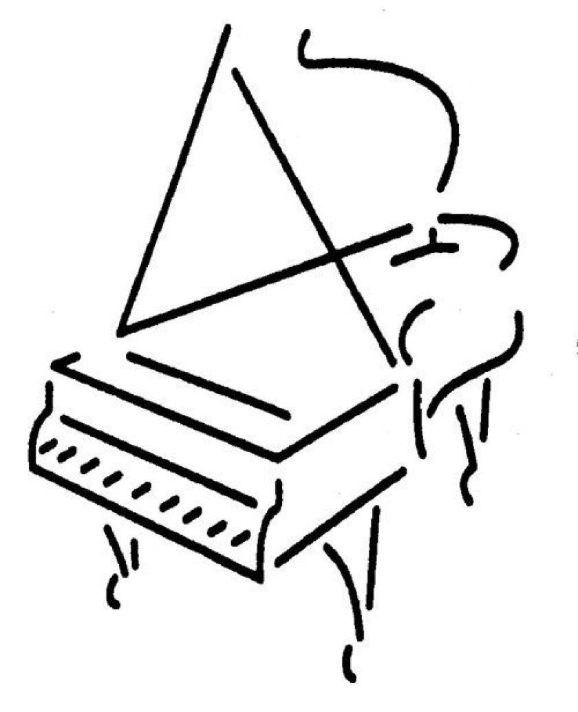 Piano-clipart