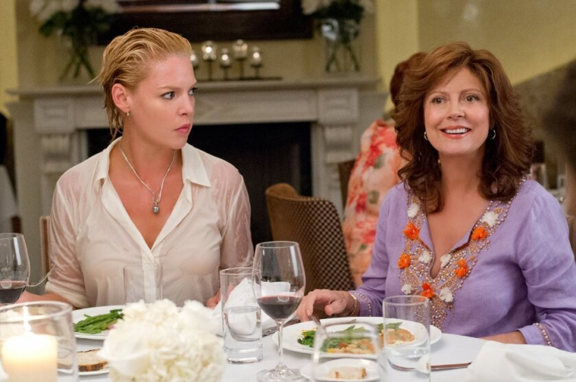 Review: 'The Big Wedding' aims its raunchiness at the AARP crowd