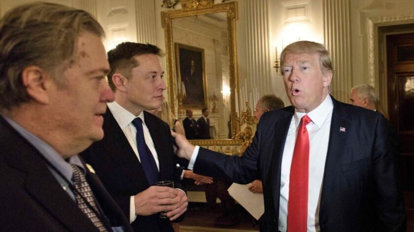 Column: Elon Musk and Donald Trump: What happens when a charismatic