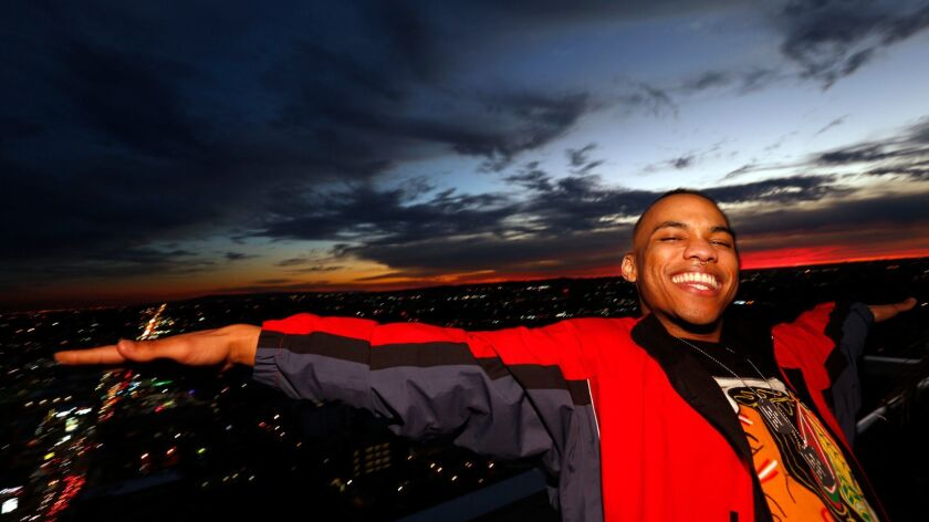 "California-born singer-rapper Anderson .Paak's breakthrough album is titled ""Malibu."""