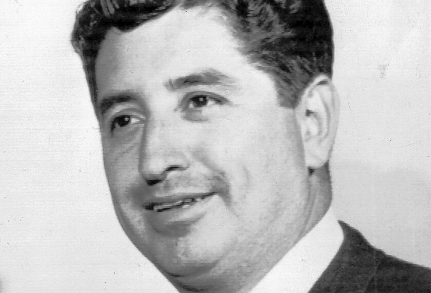 This 1963 photo shows Mexican American journalist Ruben Salazar, at the time a Los Angeles Times reporter.