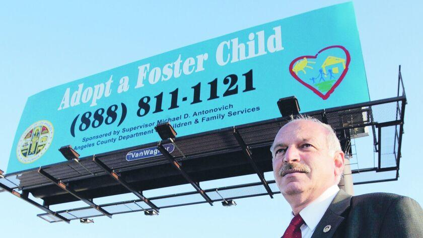 Billboard owner Onnik Mehrabian displays for free a new charitable organization on it every 30 days