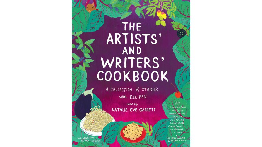 The Artists' and Writers' Cookbook: A Collection of Stories with Recipes © 2016, edited by Natalie Eve Garrett, illustrated by Amy Jean Porter, published by powerHouse Books.
