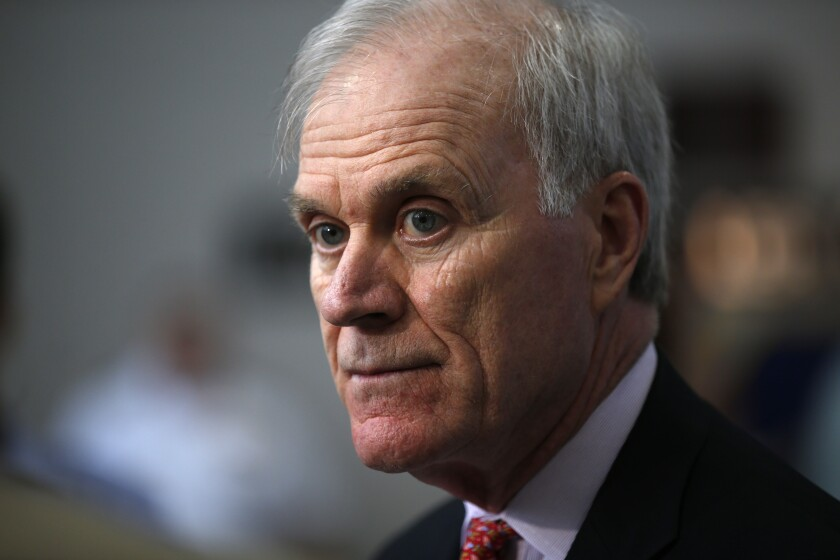 Secretary of the Navy Richard V. Spencer said he supports efforts by the commander of Naval Special Warfare to hold review boards of the SEALs involved in alleged war crimes case.