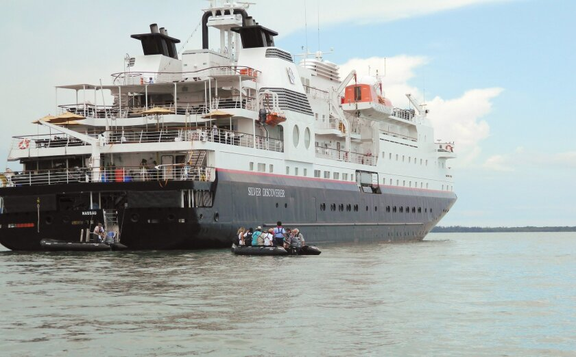 Silversea Cruises has grown from a company with a single ship to one that now has eight ships. Three are expedition vessels like this one, the Silver Discoverer.