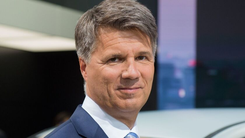 Harald Krueger quit as CEO of BMW on July 5.