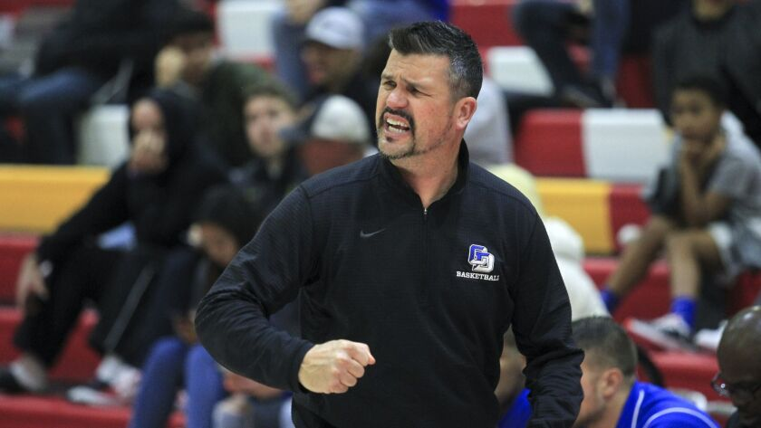 La Jolla Country Day coach Ryan Meier guided the Torreys to the school's first boys state basketball title.