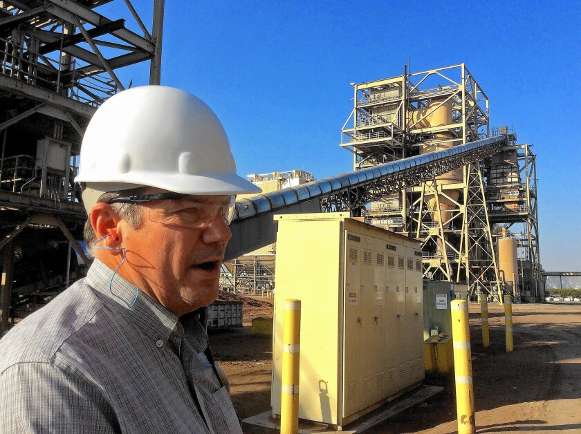 Rick Spurlock is general manager of the Rio Bravo Fresno biomass energy plant, which is likely to close after its power agreement with Pacific Gas & Electric Co. expires in 2016.