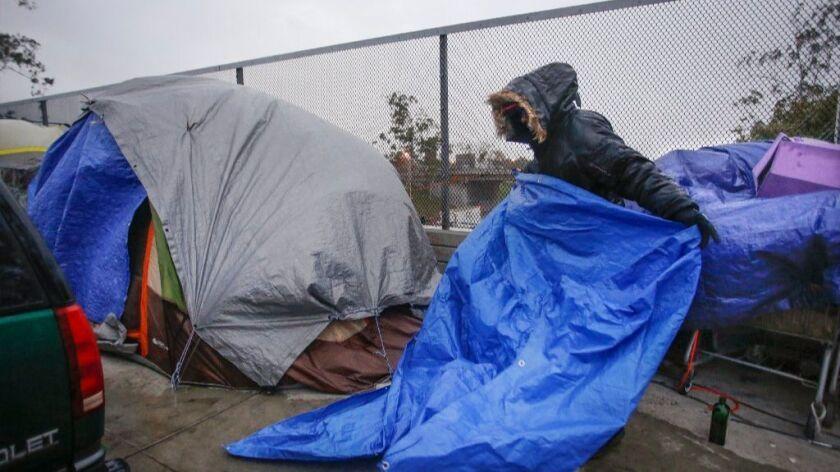 Homeless crisis
