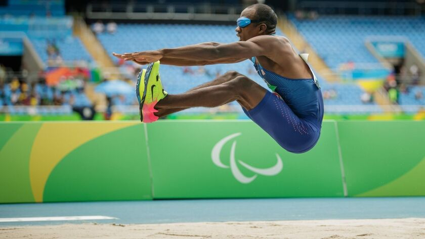 Lex Gillette competes as a Paralympic track and field athlete.