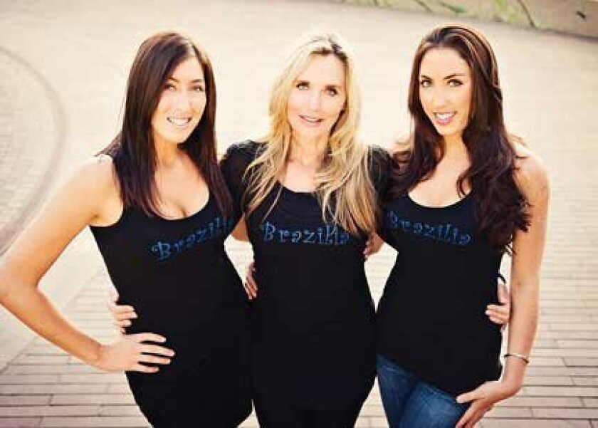Family members Ashton, Excelda and Gia Imerman operate Brazilia Skin Care, which has locations in La Jolla and Del Mar. (Courtesy Photo)