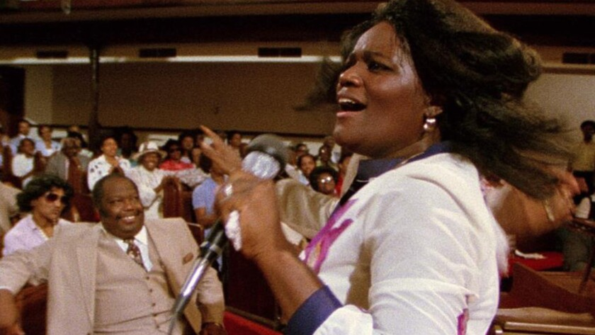 "Zella Jackson Price in the documentary ""Say Amen, Somebody."""