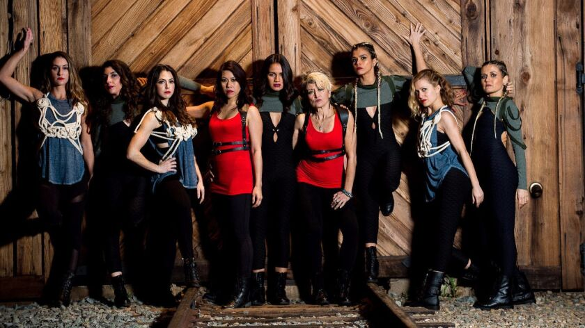 "Divas Dance Company presents ""Herstory,"" a multimedia dance story about six women, at the 2017 San D"