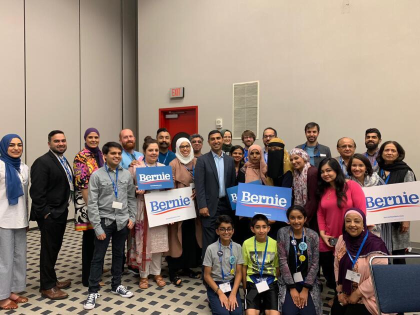 'Muslims for Bernie'